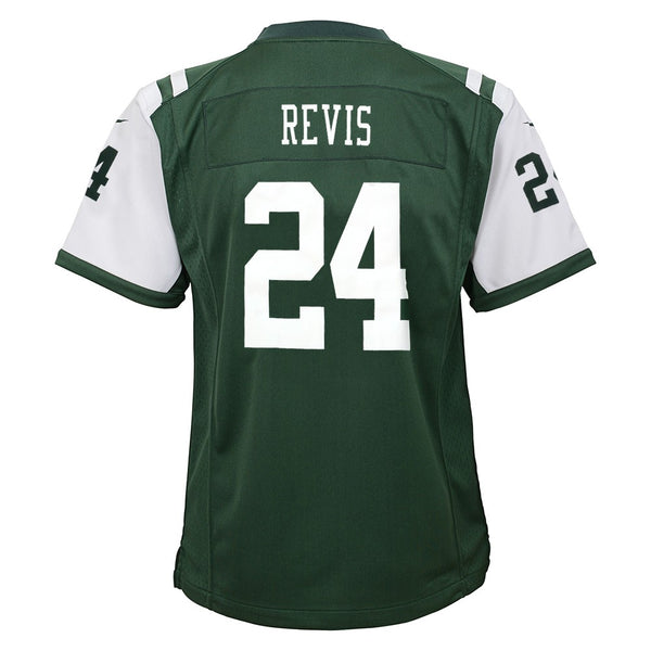 Darrelle Revis New York Jets Nike Home Green Game Jersey Youth (S-XL)