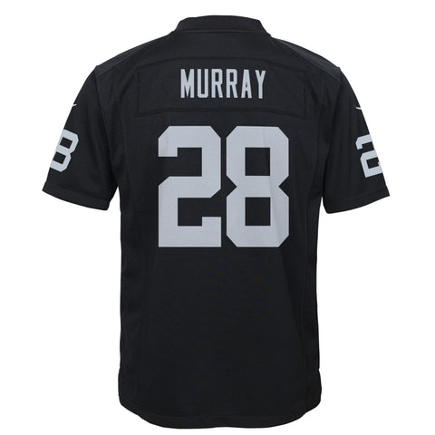Latavius Murray Oakland Raiders Nike Home Black Game Jersey Youth (S-XL)