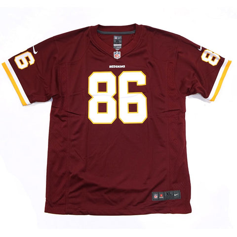 Jordan Reed Washington Redskins NFL Nike Youth Burgundy  Game Jersey