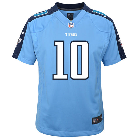 Jake Locker Tennessee Titans NFL Nike Youth Light Blue  Game Jersey