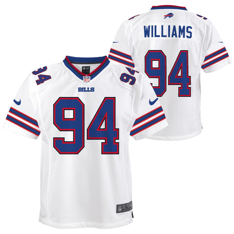 Mario Williams Buffalo Bills NFL Nike Youth White  Game Jersey
