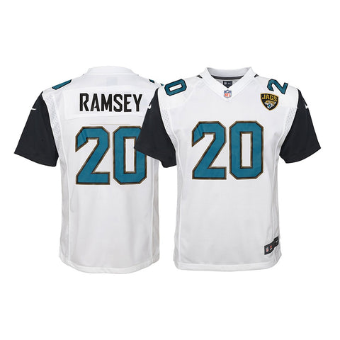 Jalen Ramsey Jacksonville Jaguars NFL Youth Nike White Away Game Jersey