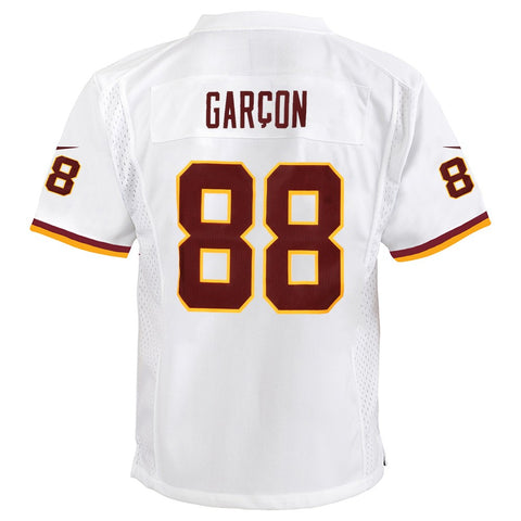 Pierre Garcon Washington Redskins Nike Away White Game Jersey Youth (S-XL)