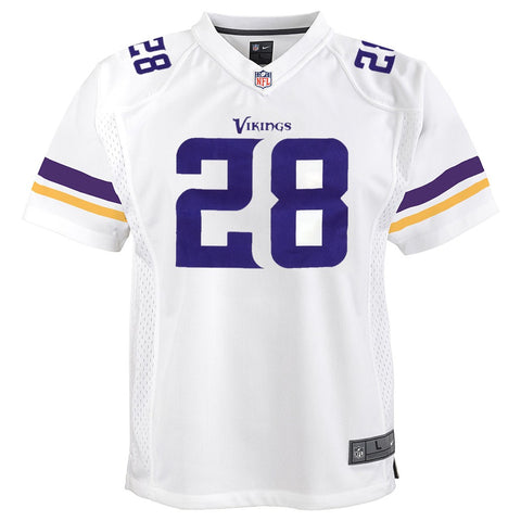 Adrian Peterson Minnesota Vikings Nike Away White Game Jersey Youth (S-XL)