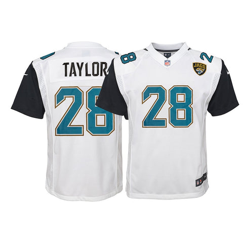 Fred Taylor Jacksonville Jaguars NFL Youth Nike White Away Game Jersey