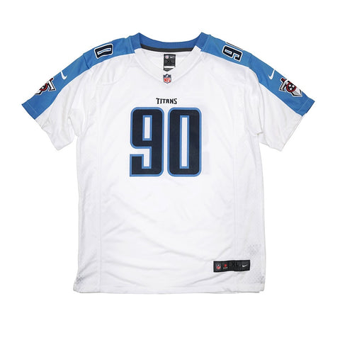Jevon Kearse Nike Tennessee Titans Nike Game Day Away White Youth Jersey