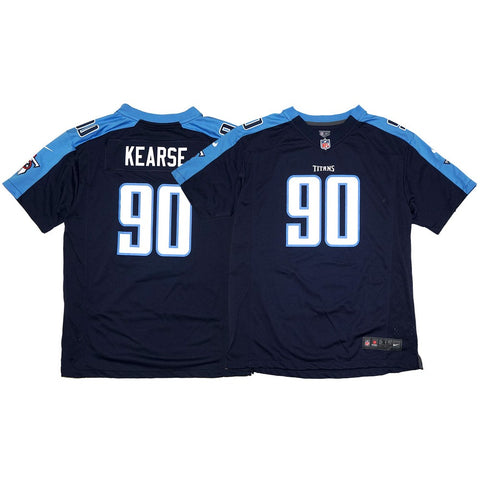 Jevon Kearse Nike Tennessee Titans Nike Game Day Alternate Navy Youth Jersey