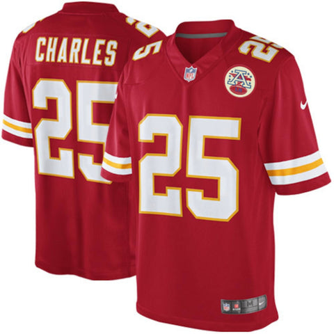 Jamal Charles Kansas City Chiefs NFL Nike Youth Red  Limited Jersey