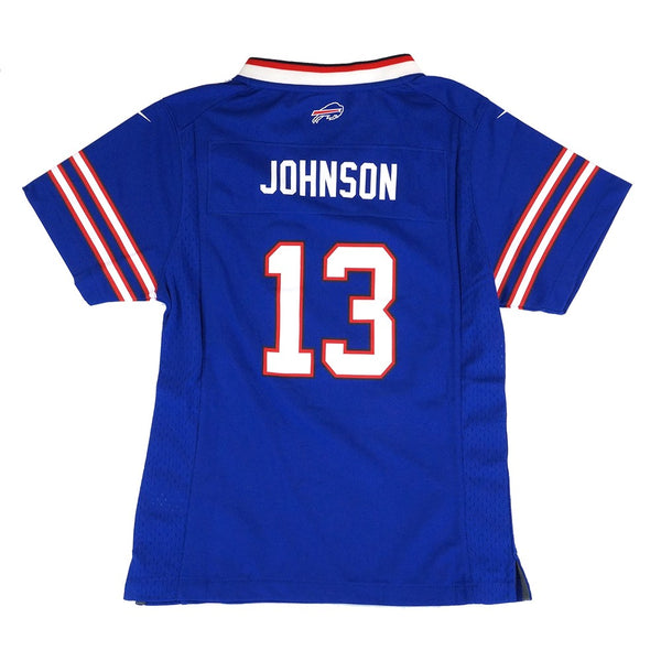Stevie Johnson Buffalo Bills Nike Home Blue Jersey Girls Youth (S-XL)