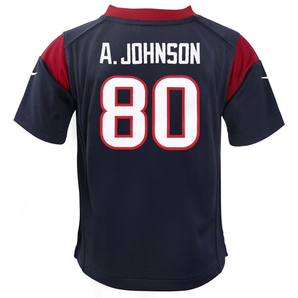 Andre Johnson Houston Texans Nike Home Navy Blue Infant Game Jersey (12M-24M)