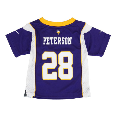 Adrian Peterson Minnesota Vikings Nike Home Purple Infant Game Jersey (12M-24M)