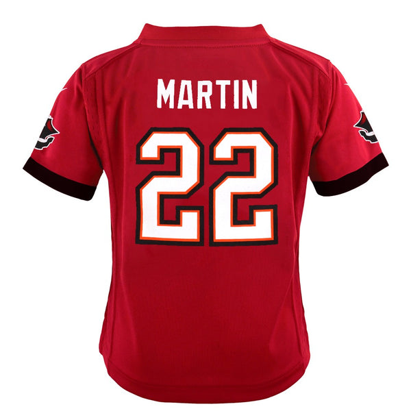 Doug Martin Tampa Bay Buccaneers Nike Home Red Toddler Game Jersey (2T-4T)