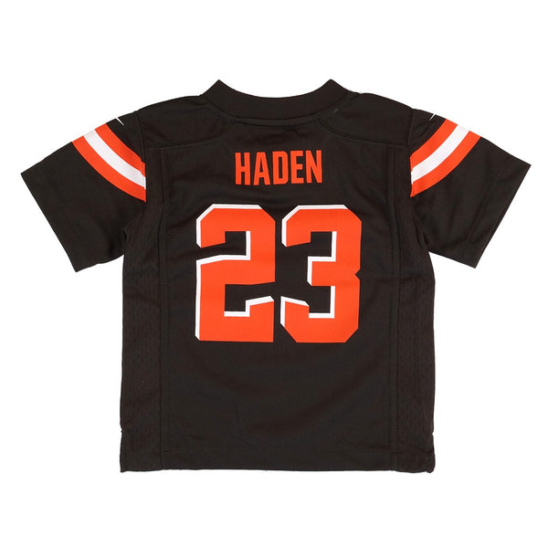 Joe Haden Cleveland Browns Nike Home Brown Toddler Game Jersey (2T-4T)