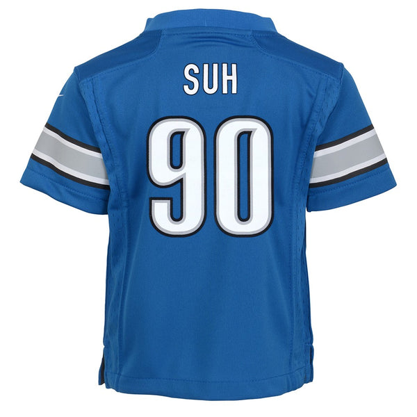 Ndamukong Suh Detroit Lions Nike Home Blue Toddler Game Jersey (2T-4T)