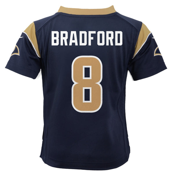 Sam Bradford St. Louis Rams Nike Home Navy Blue Toddler Game Jersey (2T-4T)