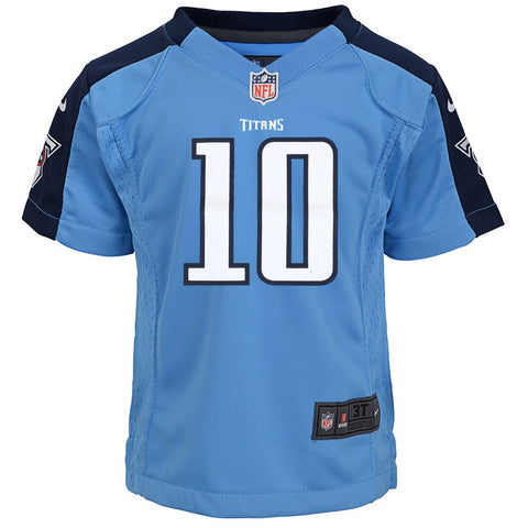 Jake Locker Tennessee Titans Nike Home Light Blue Toddler Game Jersey (2T-4T)