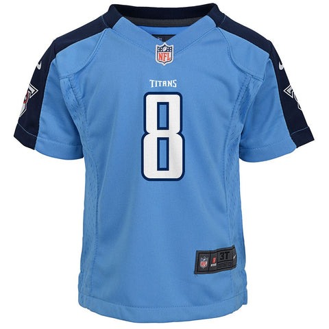 Marcus Mariota Tennessee Titans NFL Nike Girls Youth Light Blue Alt Game Jersey