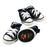Casual Dog Shoes All Star Style Denim - Dark Blue