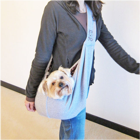 Reversible Sling Dog Carrier - Grey