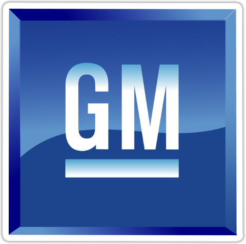General Motors Sticker