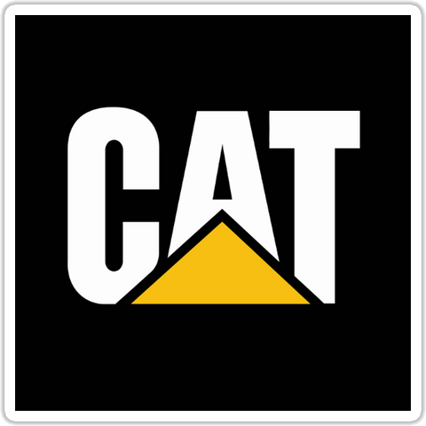 Caterpillar Sticker