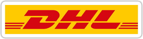 DHL Sticker