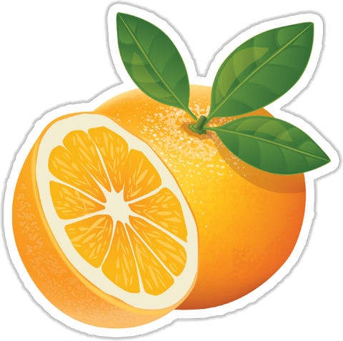 Oranges Sticker