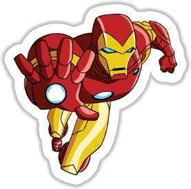 Iron-Man Sticker