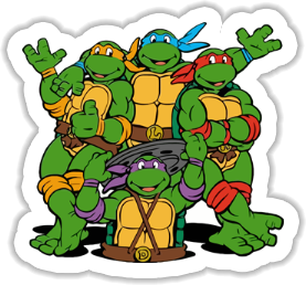Ninja Turtles Sticker