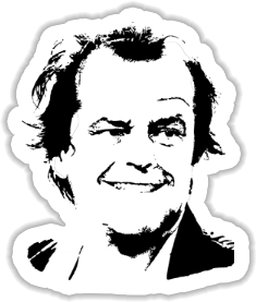 Jack Torrance - The Shining Sticker