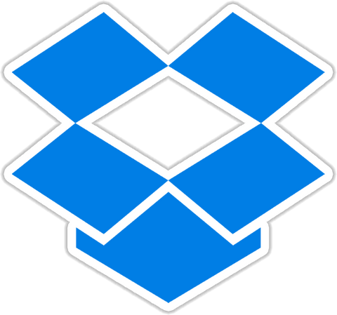 Dropbox Sticker