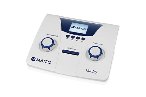 Maico MA 25 Portable Air Conduction Audiometer