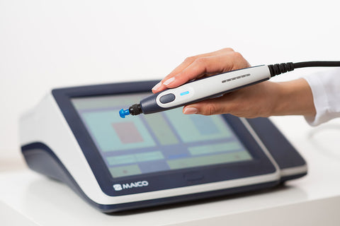Maico  touchTymp MI 26 Screening Tympanometer/Audiometer