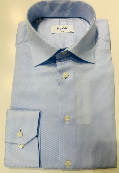 Eton Slim - Powder Blue