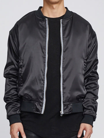 Satin Essential Bomber (2 colours)