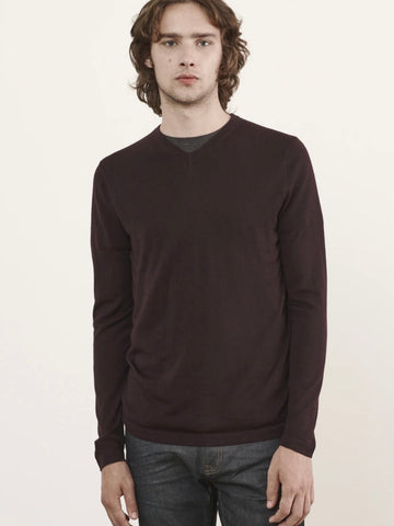 Extra Fine Merino V-Neck Sweater