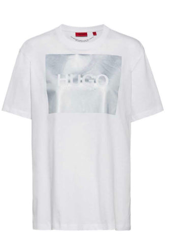 Relaxed fit Reflective logo T-Shirt