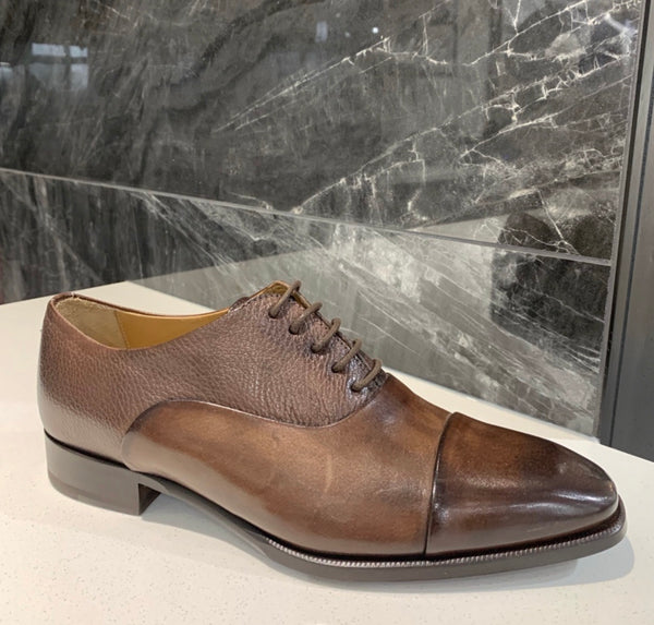 Giulio Moretti Cap Toe Dress Shoe