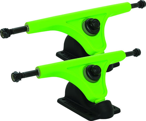 GLOBE MAGNESIUM SLANT REVERSE KINGPIN TRUCKS (set of 2)
