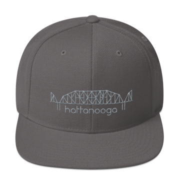 Locally Made: Hattanooga Walnut St. Snapback