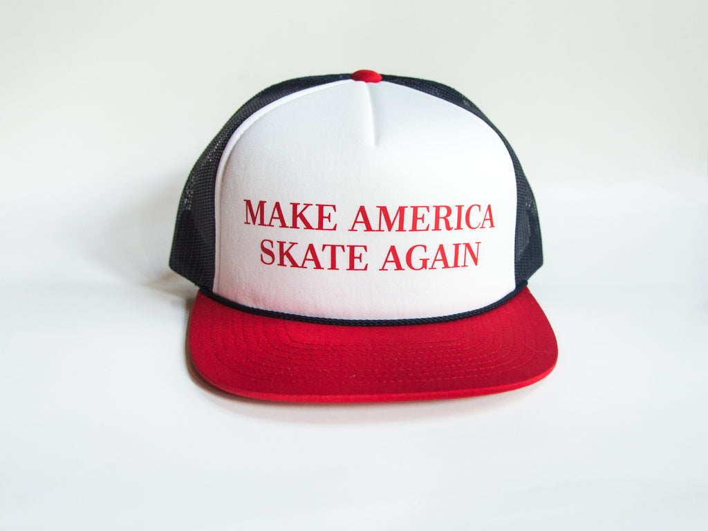 MAKE AMERICA SKATE AGAIN HAT