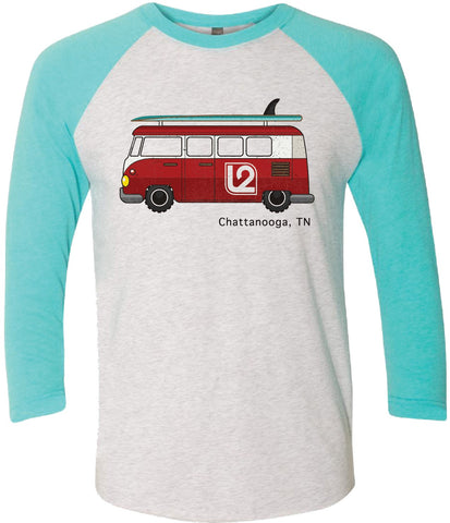 L2 Bus 3/4 Sleeve Tee