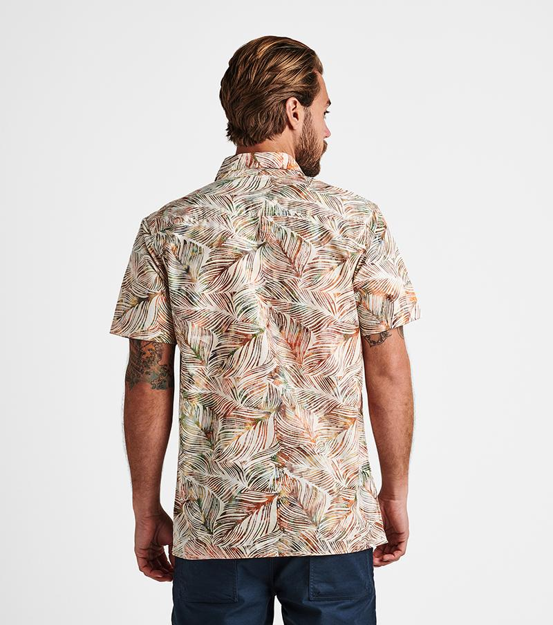 Roark Java Leaf Button Up Shirt