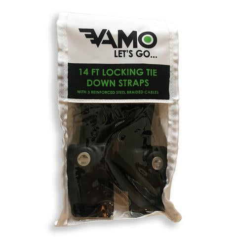 Vamo - 14' Locking Tie-Down Straps