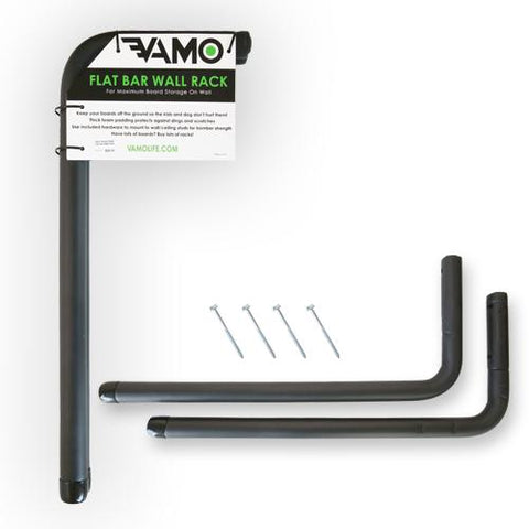 Vamo - FLAT BAR SUP / SURF WALL RACK STORAGE