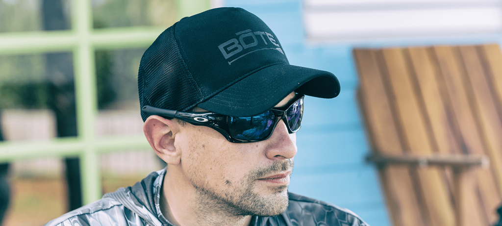 Bote Logo Blackout Trucker Cap