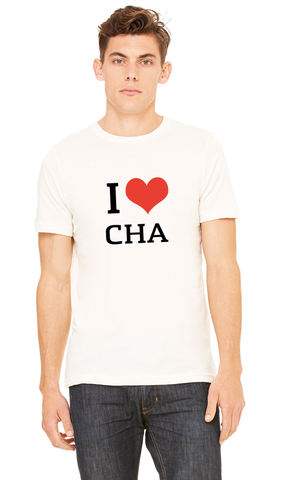 I Love Chattanooga T-shirt | White
