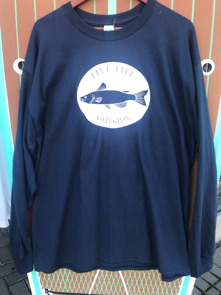 Live Life Fish Long Sleeve Tee