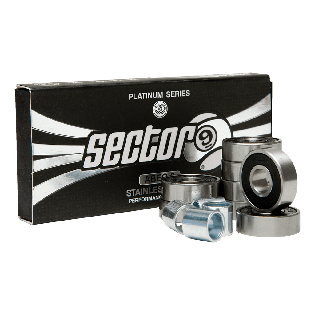 SECTOR NINE PLATINUM BEARINGS A9 (8)-ASSORTED