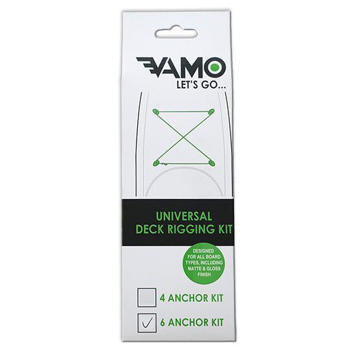 Vamo - Universal Deck Rigging Kit - 6 Anchor